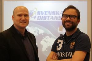 Svenska Distans, Göran Holm och Christian Benjaminsson
