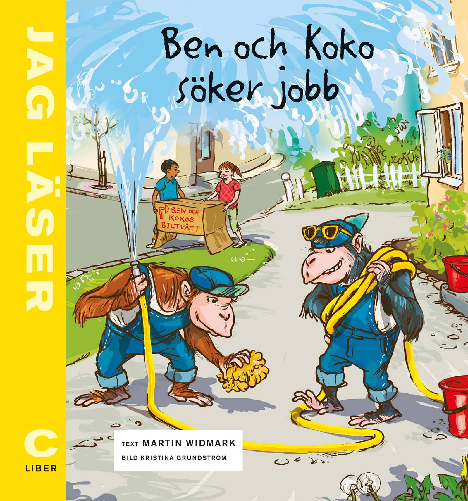 Bokomslag: Ben och Koko söker jobb